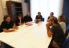 Reunión mantenida esta tarde en el Parlamento asturiano con Luis Babiano, gerente de la Asociación Española de Operadores Públicos de Abastecimiento y Saneamiento (AEOPAS), y con María Giménez, parlamentaria autonómica de Podemos Murcia y activista de la Red Agua Pública