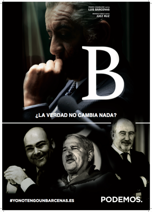 cartel B de Barcenas