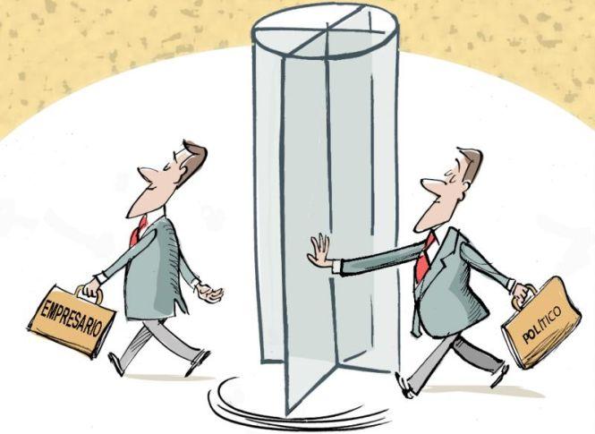 Controlando la acci n de los lobbies prevenimos las for Puerta giratoria