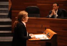 Rosa Espiño, intervención en el hemiciclo