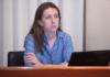 Lorena Gil en la Comisión de Empleo e Industria