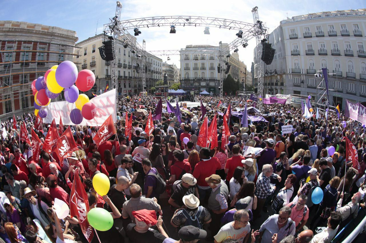 Daniel Ripa: «Apretar el botón de expulsión de Rajoy de la Moncloa es una necesidad social y una urgencia democrática»