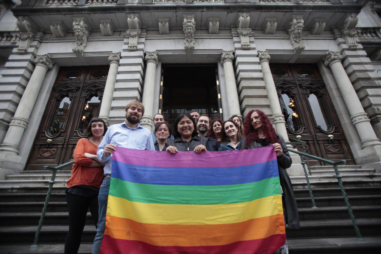 Es muy grave que las personas LGTBI asturianas, que sufren el discurso del odio de Hazte Oír, puedan ser ahora las denunciadas.        Foto: Iván G. Fdez