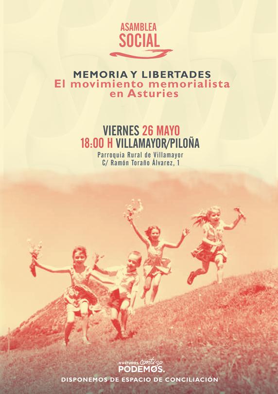 Asamblea Social. Memoria y libertades. El movimiento memorialista en Asturies