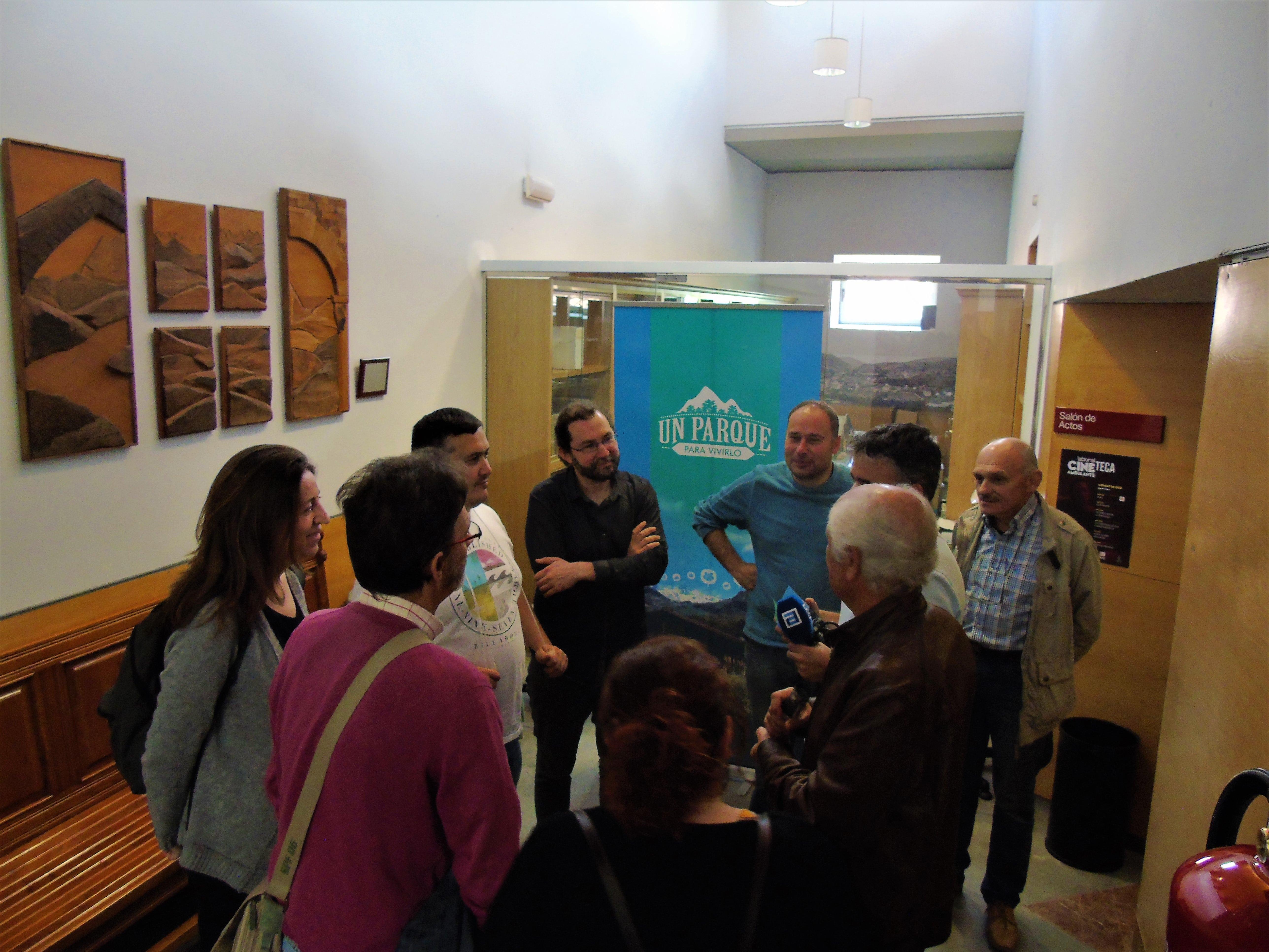 Emilio León: «Hai alternatives pal usu y xestión del Parque de Picos d'Europa»