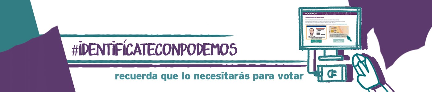 Identifícate con Podemos