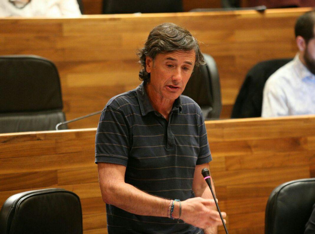 Enrique López en la Xunta Xeneral