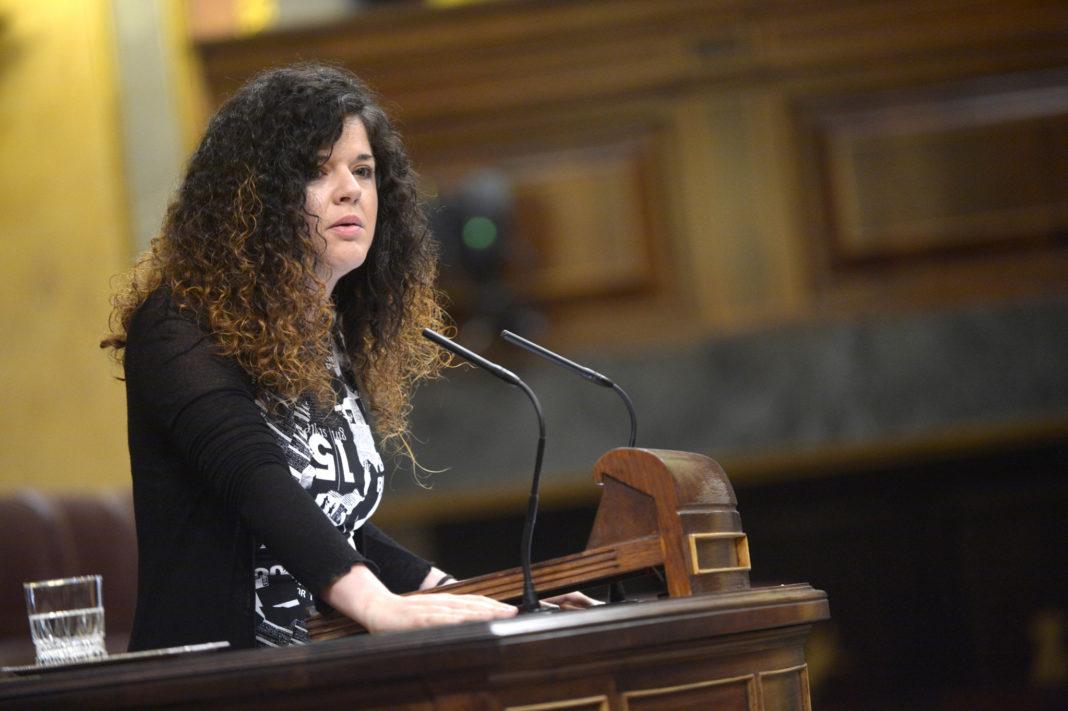 Sofía Castañón en el Pleno del Congreso
