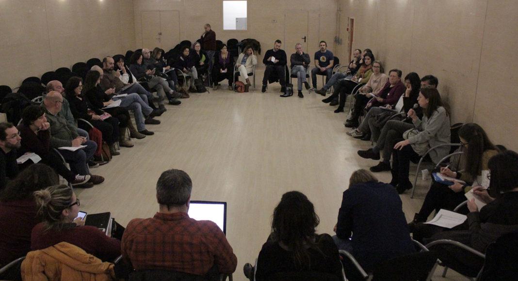 Reunión Consejo Ciudadano de Podemos Asturies