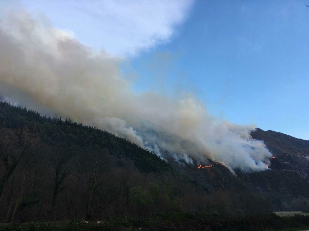 Incendios en Asturies
