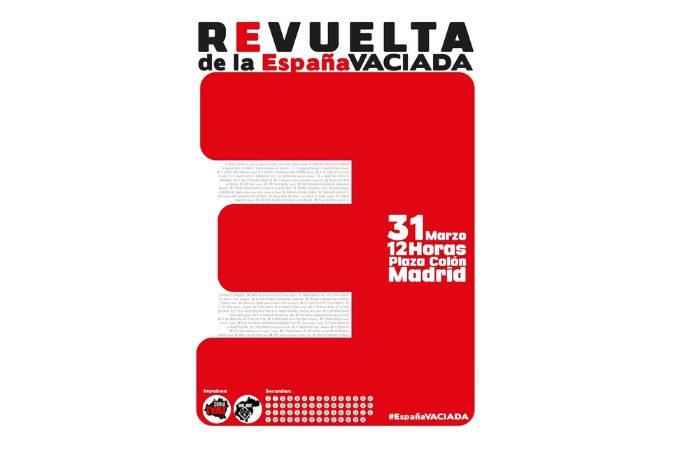 Llamamos a la participación en la manifestación en Madrid de la Revuelta de la España Vaciada