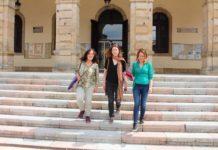 Paula Valero, Lorena Gil, en Villaviciosa