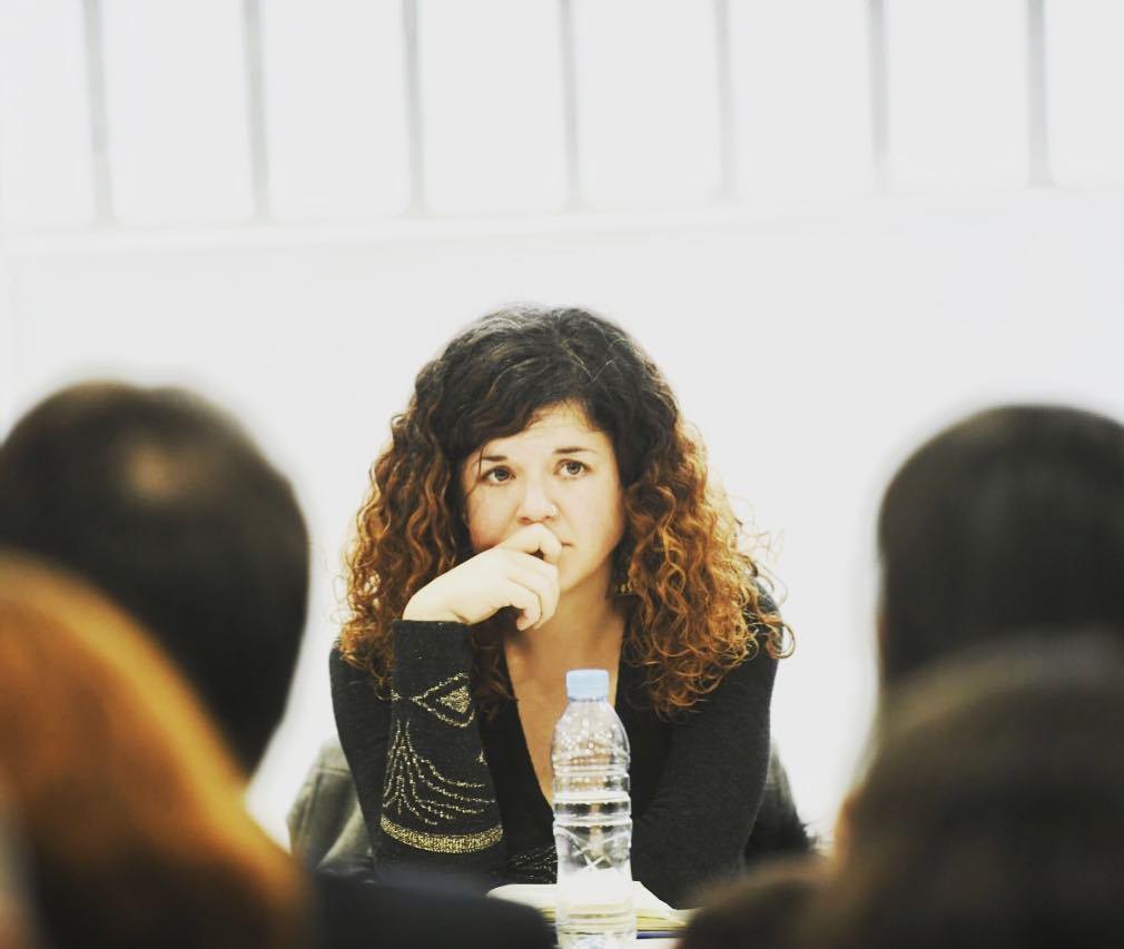 Sofía Castañon en el Consejo Ciudadano