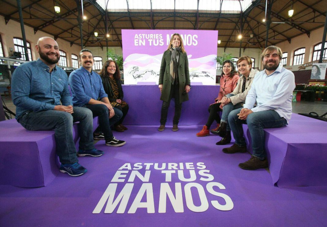 Apertura de campaña en Villaviciosa
