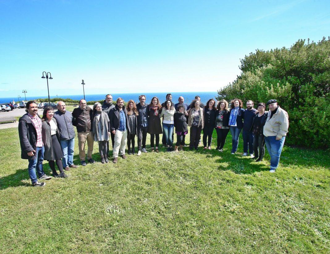 Presentación candidatura autonómica Podemos Asturies