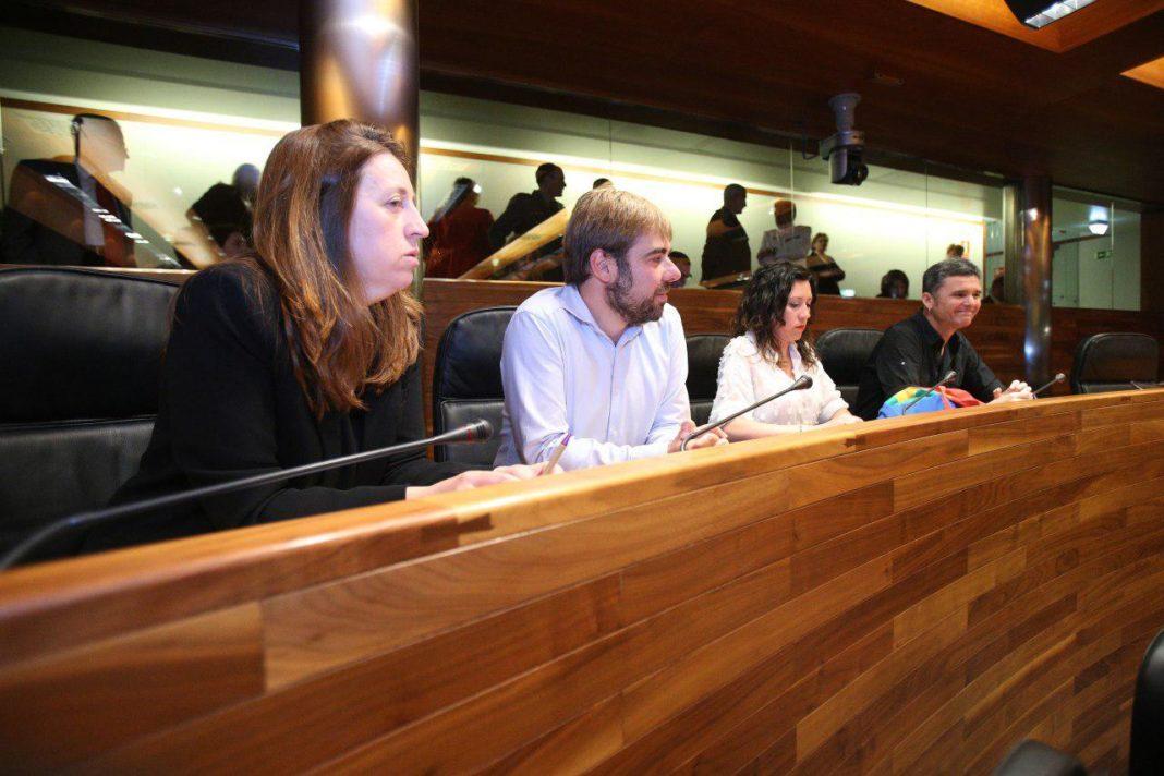 Nuevo grupo parlamentario de Podemos Asturies