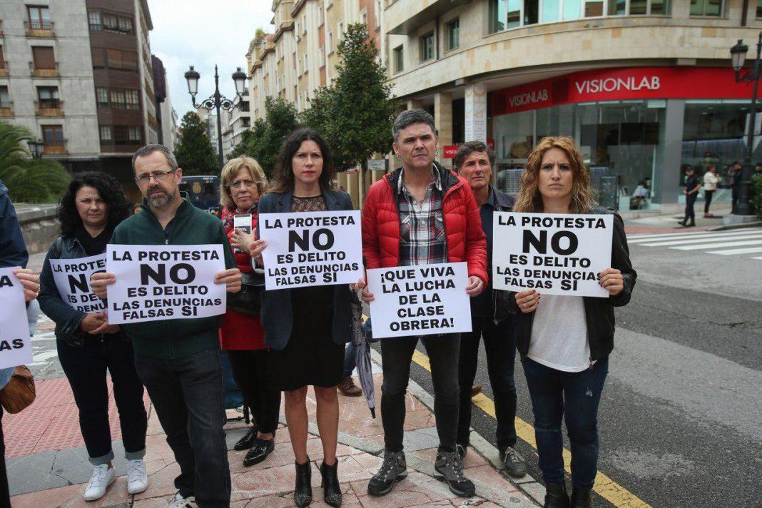 Solidaridad con los 11 del Reconquista