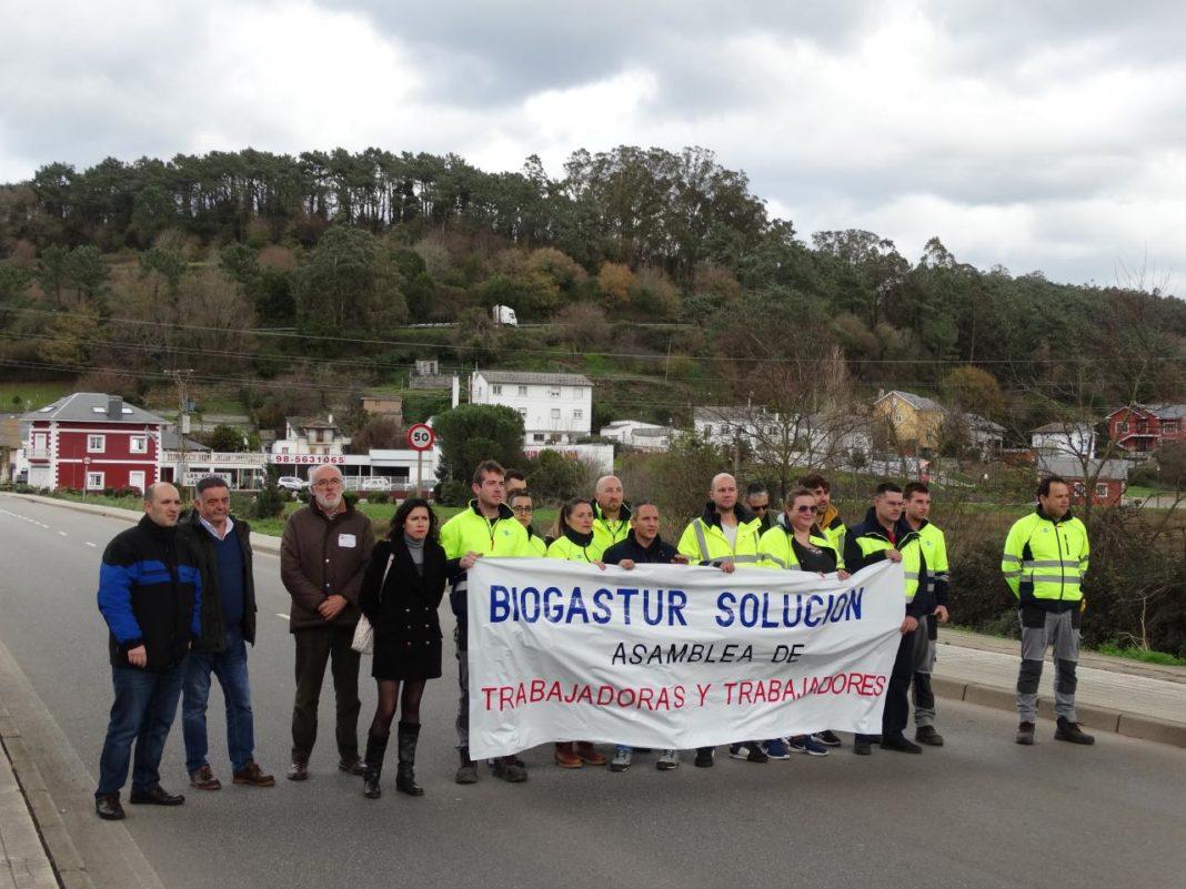 Podemos Asturies reclama que las instituciones públicas intervengan en el conflicto de Biogastur