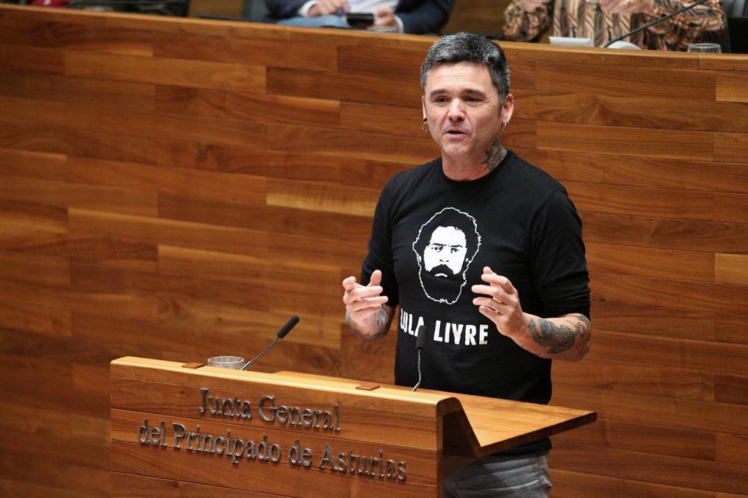 Rafael Palacios en el Pleno de la Xunta Xeneral