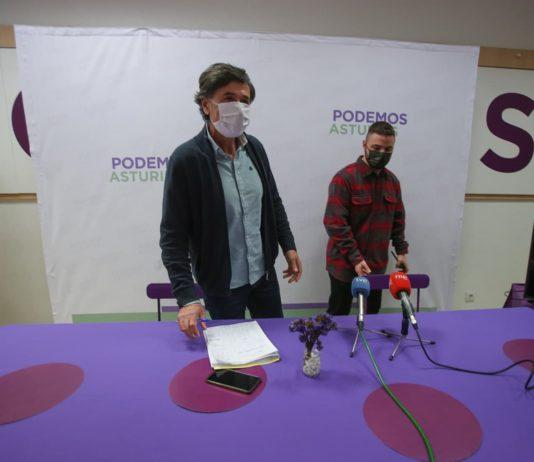 """La formación morada votará sí a los presupuestos del 2021 """"por responsabilidad ante la crisis sanitaria, social y económica, pero mantendremos nuestras 72 enmiendas"""", asegura Enrique López"""