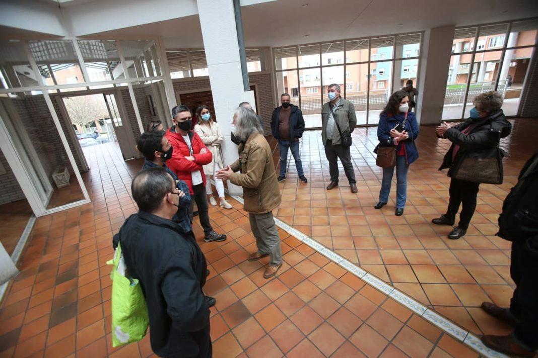 """Rafael Palacios ha denunciado """"la falta de empatía y de corazón"""" a las demandas de los y las usuarias de viviendas públicas por parte del Gobierno asturiano"""