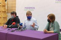 """Daniel Ripa, Covadonga Tomé y Enrique Gallart advierten que """"Asturies se nos muere"""" por culpa de la Estrategia industrial 2030 que está """"abocada al fracaso""""."""