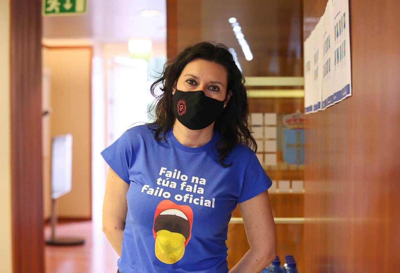 Nuria Rodríguez López, día internacional de la llingua materna