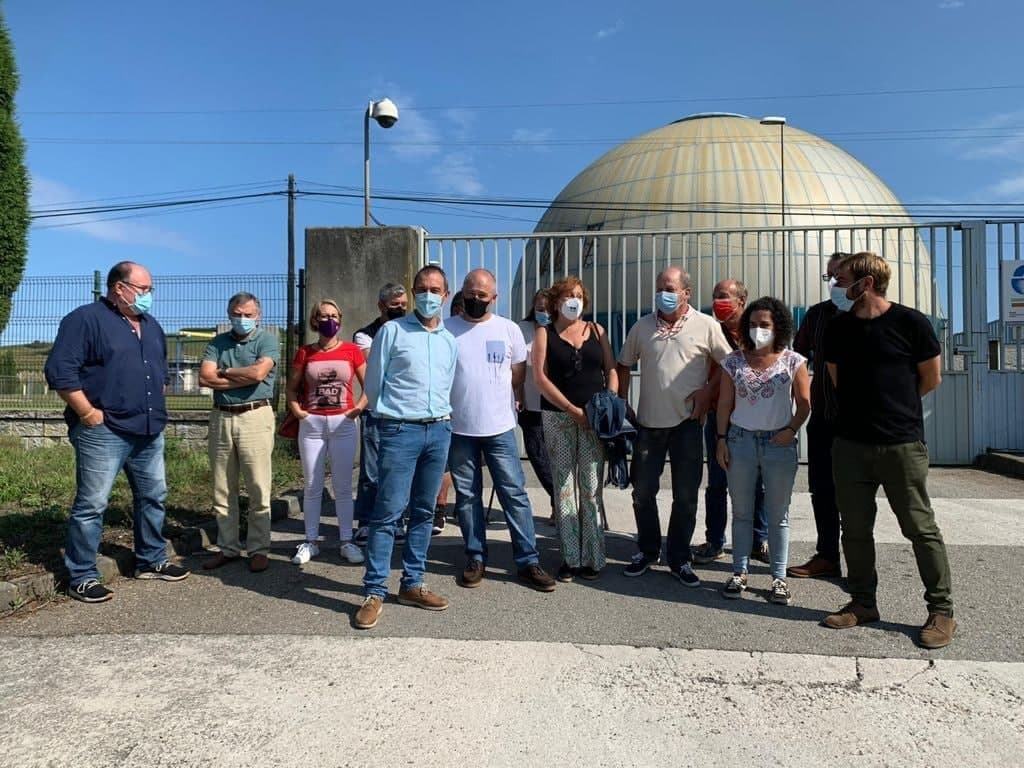 Exigimos junto a Cambia Avilés e IU la agilización de las obras de la depuradora de Maqua en Avilés