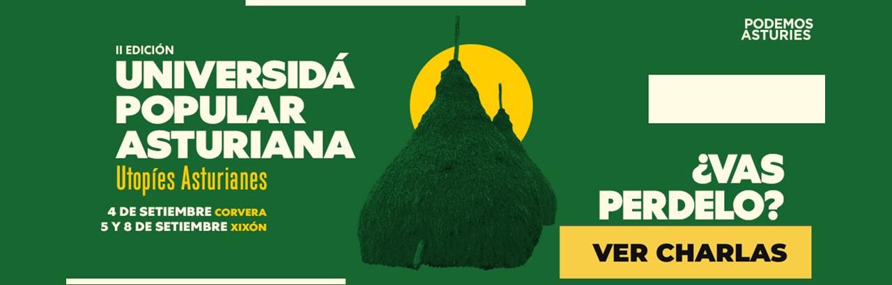 Universidá Popular Asturiana 2021. Podemos Asturies