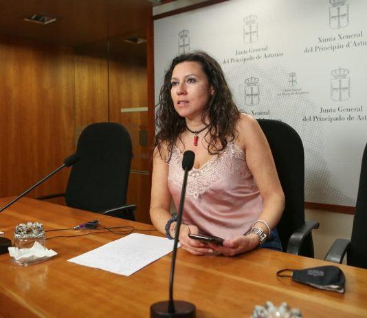 """Nuria Rodríguez: """"reclamamos al consejero de Industria mayor implicación para el futuro de los y las trabajadoras de Duro Felguera"""""""